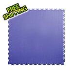 Lock-Tile 7mm Blue PVC Smooth Tile (30 Pack)