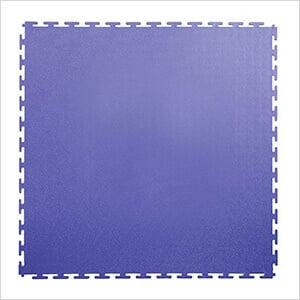 7mm Blue PVC Smooth Tile (30 Pack)