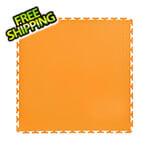 Lock-Tile 7mm Orange PVC Smooth Tile (30 Pack)
