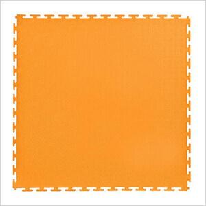 7mm Orange PVC Smooth Tile (30 Pack)