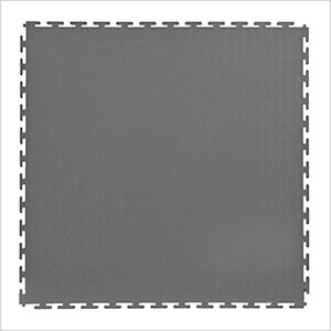 7mm Dark Grey PVC Smooth Tile (50 Pack)