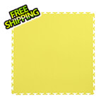 Lock-Tile 7mm Yellow PVC Smooth Tile (50 Pack)