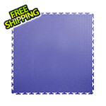 Lock-Tile 7mm Blue PVC Smooth Tile (50 Pack)