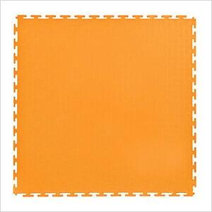 7mm Orange PVC Smooth Tile (50 Pack)