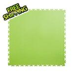 Lock-Tile 7mm Neon Green PVC Smooth Tile (50 Pack)