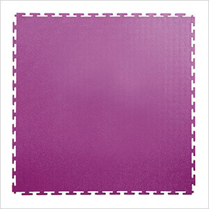 7mm Purple PVC Smooth Tile (50 Pack)
