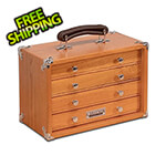 Gerstner Oak 4-Drawer Chest (Imported)