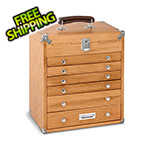 Gerstner Oak 6-Drawer Chest (Imported)