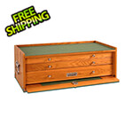 Gerstner Oak 3-Drawer Mid-Base (Imported)