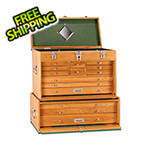 Gerstner 2-Piece Oak Tool Storage Set (Imported)