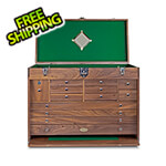 Gerstner Pro-Series Chest in Natural Walnut (Made in USA)