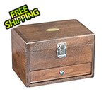 Gerstner Just Right Box in Natural Walnut (Made in USA)