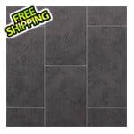 NewAge Garage Floors Stone Slate Vinyl Tile Flooring (7 Pack)