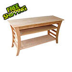 "Creekvine Designs 48"" Cedar Entertaining Buffet Table"