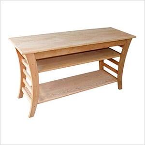 "48"" Cedar Entertaining Buffet Table"