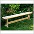 5' Treated Pine Trestle Garden Bench