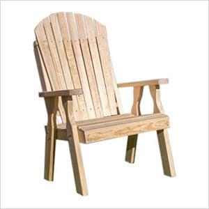 Treated Pine Curveback Patio Chair