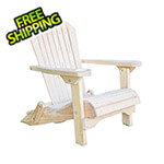 Creekvine Designs Treated Pine Folding Adirondack Chair