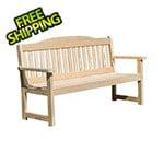 "Creekvine Designs 53"" Treated Pine English Garden Bench"