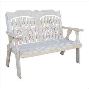 "53"" Treated Pine Starback Bench"