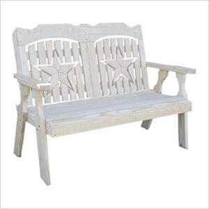 "64"" Treated Pine Starback Bench"