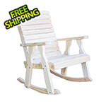 Creekvine Designs Treated Pine Rollback Rocking Chair