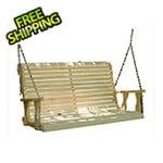 "Creekvine Designs 53"" Treated Pine Rollback Porch Swing"