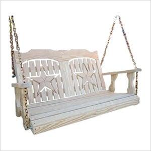 "64"" Treated Pine Starback Porch Swing"