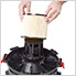 Multi-Fit Standard Cartridge Filter for Wet Dry Shop Vacuum