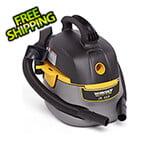 Workshop Vacs 2.5 Gallon Small Shop Vacuum Cleaner