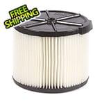 Workshop Vacs Compact Standard Cartridge Filter for Wet Dry Shop Vacuum