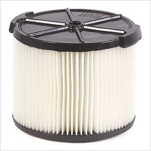Compact Standard Cartridge Filter for Wet Dry Shop Vacuum