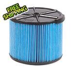 Workshop Vacs Compact Fine Dust Cartridge Filter for Wet Dry Shop Vacuum
