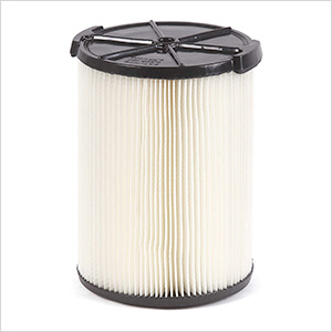 Multi-Fit Standard Wet Dry Cartridge Filter for 5-16 Gallon Vacuums