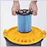 Multi-Fit Fine Dust Wet Dry Cartridge Filter for 5-16 Gallon Vacuums