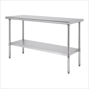 """EcoStorage NSF 60"""" Stainless Steel Table"""