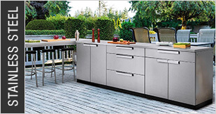 NewAge Stainless Steel Outdoor Kitchens