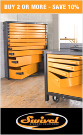 Swivel Tool Storage Solutions